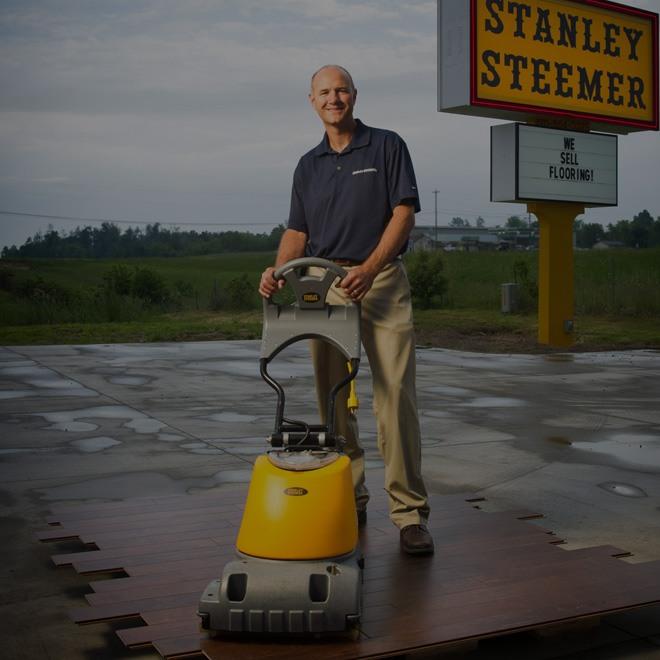 Stanley Steemer Standortdatenmanagement