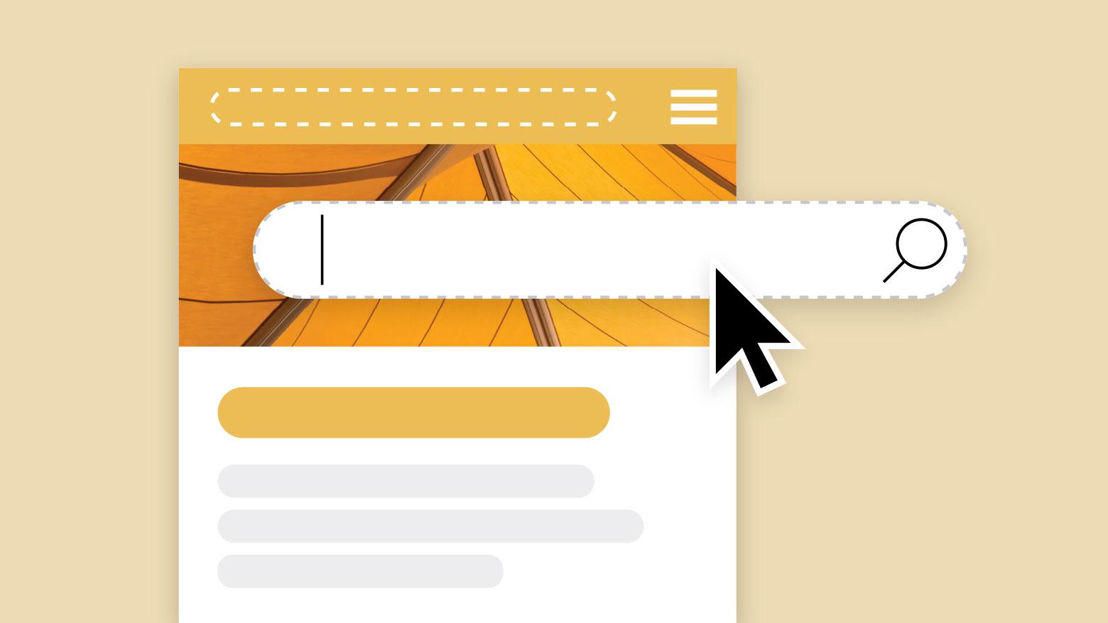Die Website-Suche für Ihre Website-Neugestaltung